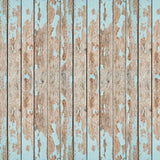 Teal Blue Wood Backdrop - 7871 - Backdrop Outlet