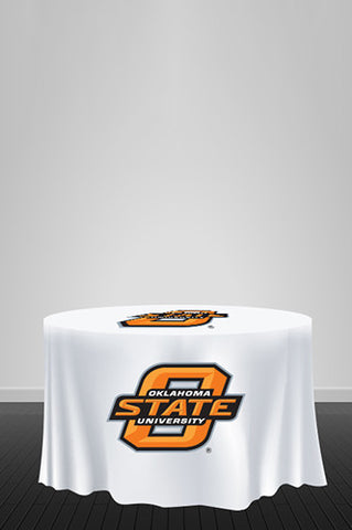 PMT133 Round Custom Printed Promotional Table Cover - Backdrop Outlet - 1