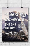Photography Poster The Best Camera - POSTER002 - Backdrop Outlet