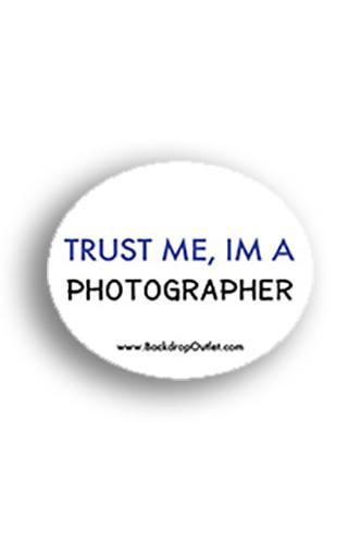 STICKER015 Trust Me Sticker - Backdrop Outlet