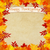 Printed Autumn Leaves Happy Thanksgiving Backdrop - Lightweight Platinum Cloth - 8'x8' - LCPC6888 - LAST CALL