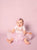 Solid Pink Diamond Cloth Fabric Backdrop - AB504 - Backdrop Outlet