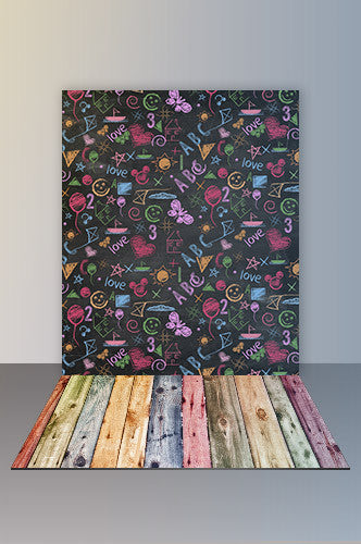 Backdrop And Floor Combo Set - COMBO131 - Backdrop Outlet