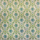 Printed Backdrop - Damask Blue Green Gem - 1044 - Backdrop Outlet