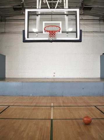 109 Basketball Gym Backdrop School - Backdrop Outlet