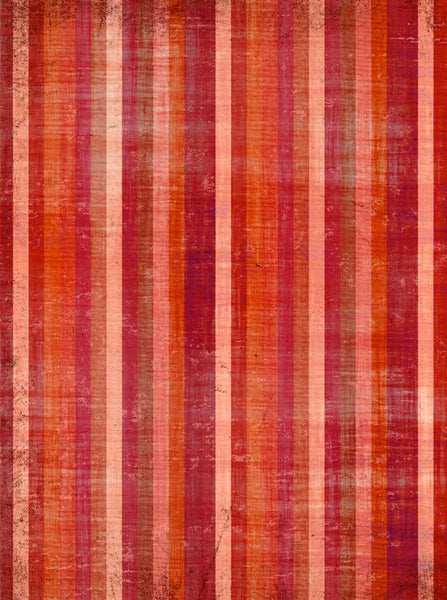 Red Stripes Printed Photo Backdrop - 1102 - Backdrop Outlet