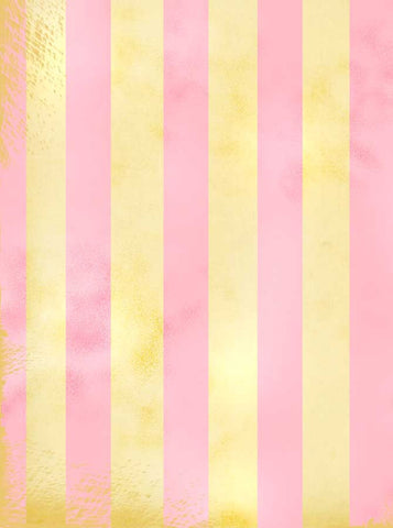 1151 Pink Lemonade Stripe  Backdrop - Backdrop Outlet