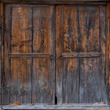 1190 Wood Stable Doors Backdrop - Backdrop Outlet