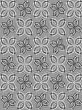 1249 Happy Gray Flowers Backdrop - Backdrop Outlet