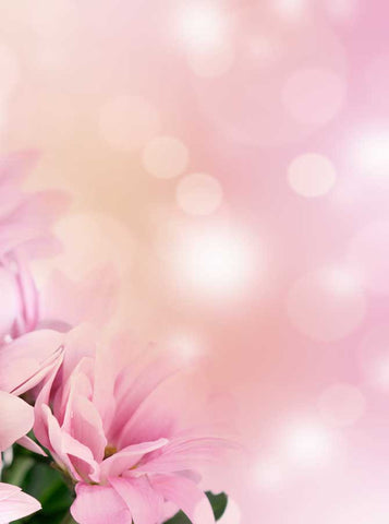 Pink Sparkle Flower Backdrop - 1269 - Backdrop Outlet