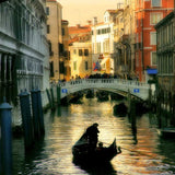 1366 Venice Water Canals Backdrop - Backdrop Outlet