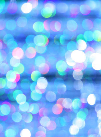 1379 Bokeh Glitter Blue Sky Photo Background - Backdrop Outlet