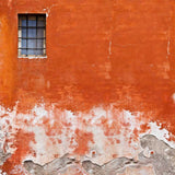 1402 Sunset Orange Window Wall Backdrop - Backdrop Outlet