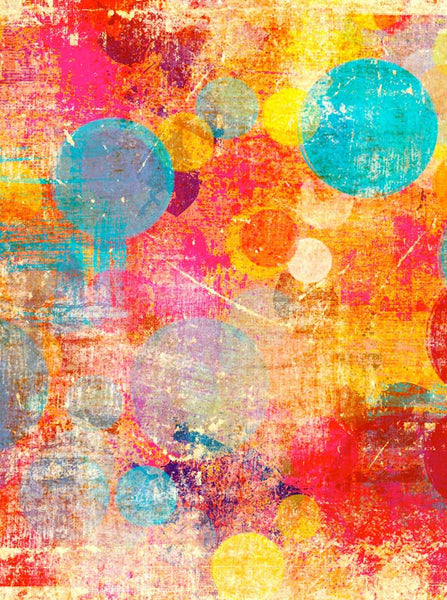 Abstract Color Splat Photography Backdrop - 1412 - Backdrop Outlet