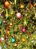 Christmas Tree Backdrop - 143 - Backdrop Outlet
