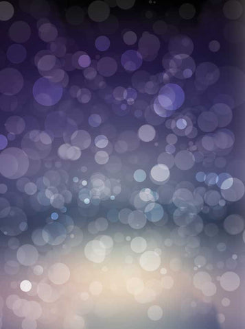 Midnight Blue Bokeh Photo Backdrop - 1440 - Backdrop Outlet