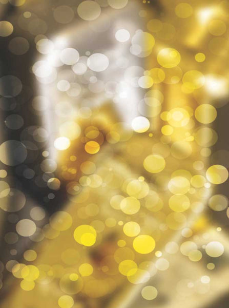 1455 Bokeh Gold Glitter Backdrop - Backdrop Outlet