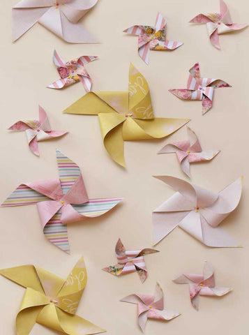 1644 Flying Pinwheels Background - Backdrop Outlet
