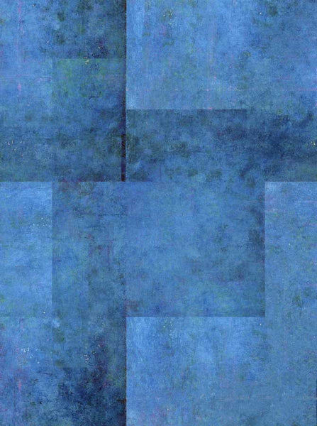 Abstract Blue Geo Printed Photography Backdrop - 171 - Backdrop Outlet
