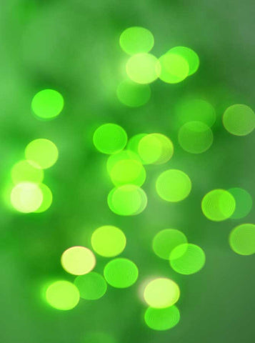 182 Bokeh Green Backdrop - Backdrop Outlet