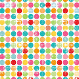 1952 Printed Colorful Dots Backdrop - Backdrop Outlet - 3