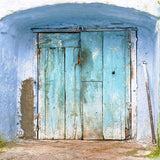 Doors Aqua Blue Backdrop - 1998 - Backdrop Outlet