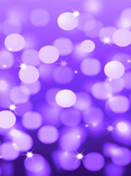 2019 Bokeh Purple Backdrop - Backdrop Outlet
