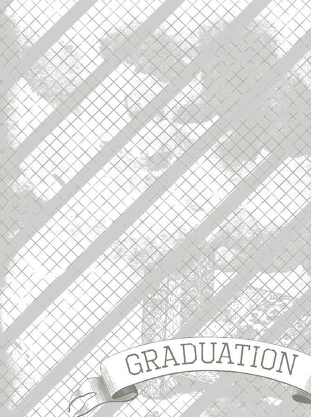 2124 Graduation Grid Backdrop - Backdrop Outlet