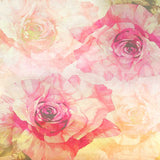2149 Printed Floral Backdrop - Backdrop Outlet