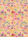 2158 Watercolor Flower Blooms Backdrop - Backdrop Outlet - 3