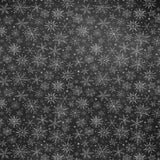 2213 Chalkboard Snowflakes Backdrop - Backdrop Outlet