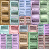 Shutters Pastel Backdrop - 2276 - Backdrop Outlet