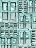 Shutters Aqua Backdrop - 2280 - Backdrop Outlet
