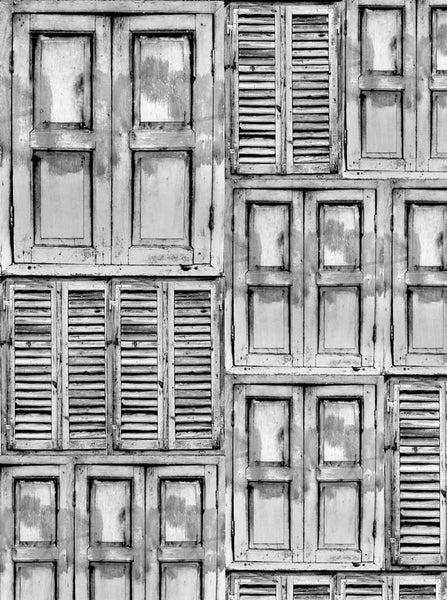 Shutters Mixed Gray Backdrop - 2281 - Backdrop Outlet