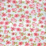 Pink Vintage Flowers Backdrop - 2283 - Backdrop Outlet