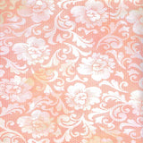 Blush Lace Flowers Backdrop - 2286 - Backdrop Outlet
