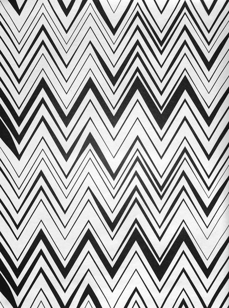 2293 Printed Black White Chevron Stripes Backdrop - Backdrop Outlet