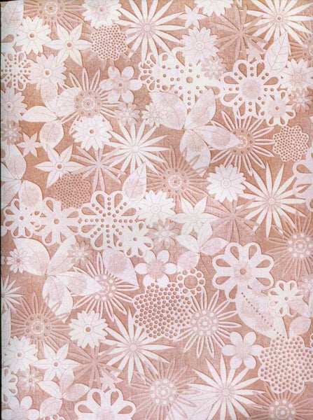 Tan Flower Blush Backdrop - 2319 - Backdrop Outlet