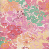 Pink Yellow Flower Backdrop - 2323 - Backdrop Outlet