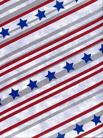 2342 Stripes Stars Backdrop - Backdrop Outlet