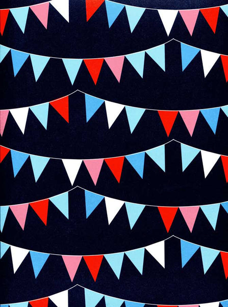 2345 Bunting Flags Backdrop - Backdrop Outlet