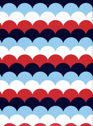 2348 Scallop Patriotic Backdrop - Backdrop Outlet