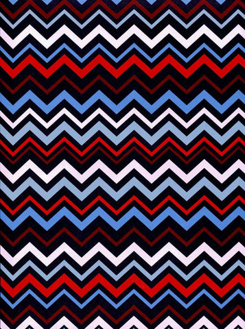 Chevron Patriotic Backdrop - 2350 - Backdrop Outlet