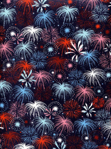 2351 Fireworks Backdrop - Backdrop Outlet
