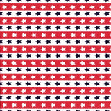Red white Stars Backdrop - 2354 - Backdrop Outlet