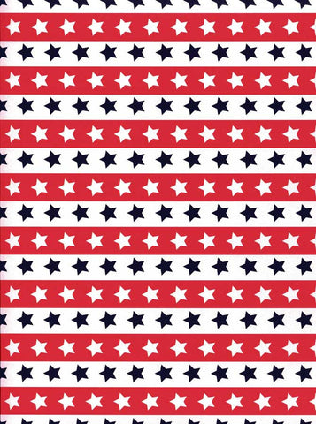 2354 Red white Stars  Backdrop - Backdrop Outlet