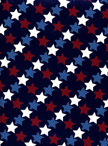 2355 Vivid Stars Patriotic Backdrop - Backdrop Outlet
