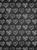Chalkboard Hearts Backdrop - 2370 - Backdrop Outlet