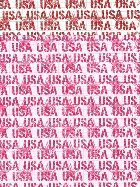 Usa Red Backdrop - 2377 - Backdrop Outlet