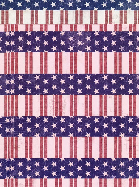 2388 Stars and Stripes Backdrop - Backdrop Outlet